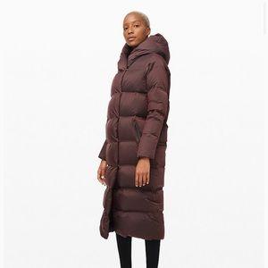 lululemon athletica Jackets & Coats - Lululemon Cloudscape waterproof  Wrap /Taupe